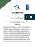 Project Document UNDP