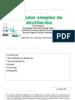 11. Destilacion simple