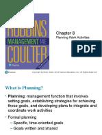 LECTURE 05 Planning Work Activities