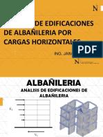 9 ANAISIS DE EDIFICACIONES DE ALBAÑILERIA POR CARGAS HORIZONTALES (1)