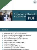 SQL Progrmming