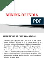 MINING OF INDIA