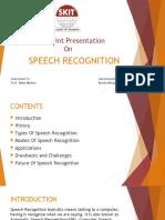 SPEECH RECOGNITION.pptx