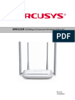 Router Mercusys - MW325 - Manual