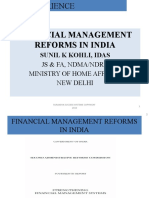 Financial Management Reforms in India