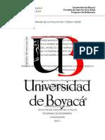 INFORME FINAL JORNADA DE ACTUALIZACIÓN CODIGO VERDE