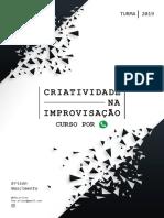Apostila - Criatividade na Improvisação - Aula 03