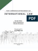 International Law Study Guide