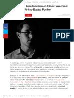 Cómo Conseguir Tu Autorretrato en Clave Baja con el Mínimo Equipo Posible.pdf