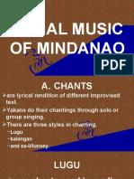 Vocal Music of Mindanao