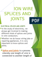 8-COMMON WIRE SPLICES AND JOINTS