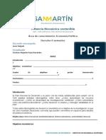 Desarrollo sostenible y Plan Nacional Colombia