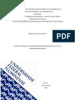 Dissertação - Acesso integrado aos recursos de informação - foca na interoperabilidade