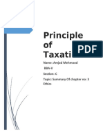 ethics in tax