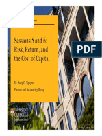 __MM6_Sessions 5 and 6_Risk Return Cost of Capital_Slides