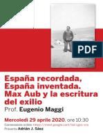 2020.04.Conferenza.Maggi.Espana.Aub