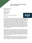 Amazing Affidavit to Gov