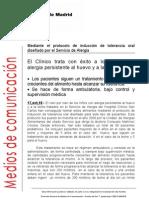 CLINICO DESENSIBILIZACION 2010