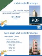 Multistage Multioutlet Pump