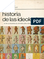 2.Historia De Las Ideologias II. De La Iglesia Al Estado
