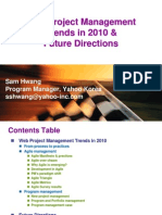2010 project management trends and forecast