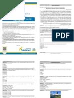 NM 2019 Agente de Serviços Públicos Prefeitura Municipal de Novo Horizonte