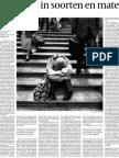 Dehue Volkskrant Reactie Op Van Der Does Depressie-epidemie