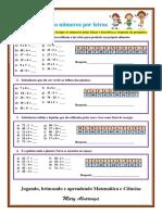 Matemática e Ciências - Trocando números por letras