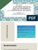 ESTUDIO DE CASO DESDE EL ENFOQUE PSICODINAMICO