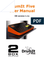 DrumIt User Manual 1.1x r3