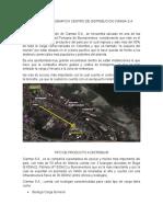 UBICACIÓN GEOGRAFICA CENTRO DE DISTRIBUCION CIAMSA S.docx