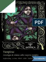 Vampiras Antologia de relatos sobre mujeres vampiro - AA VV.pdf