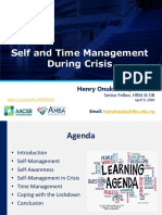 Self and Time Management During Crises.pdf.pdf
