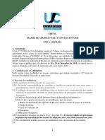 Edital (ISRI)  Exames de Admissão Para o Ano Lectivo 2020 Universidade Joaquim Chissano.pdf