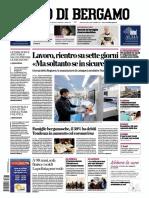 L eCo di Bergamo 17 Aprile 2020