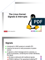Signals and Interupts