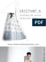 Vestidos de novia colección 2011 de la exclusiva firma Cristyant .H.