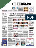 L eCo di Bergamo 20 Aprile 2020