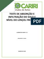 TESTE DE ABSORÇÃO - CLARICE