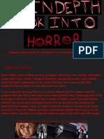 An in Depth Look Into Horror