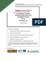 P4 ISMC 2018 w Answers