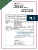 Diseño Instruccional para Estudiantes - Electriva II CAD-CAM-CNC - Semanas (13 Abril  al 25 Abril; 27 Abril al 9 Mayo; 11 Mayo al 22 Mayo; 25 Mayo al 30 Mayo)