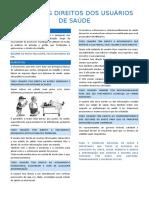 RESUMO - CARTA DOS DIREITOS DOS USUÁRIOS DE SAÚDE
