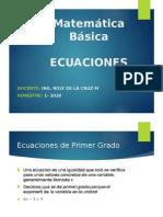 T3-ECUACIONES PRIMER Y SEGUNDO GRADO
