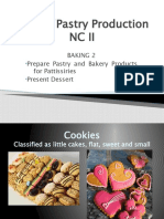 characteristics of Bread and Pastry