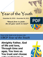 Prayer for the Year of the Youth