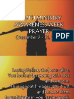 Youth Ministry Awareness Week Prayer