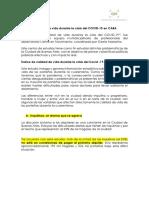 Informe Sobre Impacto Del COVID 19 en CABA