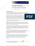 The Deployment Pipeline by Dave Farley 2007