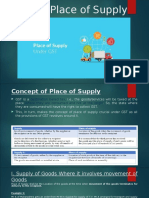 GST_Place of Supply GST_Final